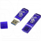 USB Flash 32Gb Smart Buy Glossy темно-синяя 3.0