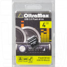 USB Flash 4Gb OltraMax 50 черная