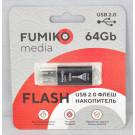 USB Flash 64Gb Fumiko Paris черная