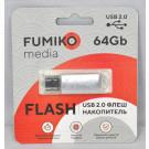 USB Flash 64Gb Fumiko Paris серебро
