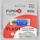 USB Flash 8Gb Fumiko Paris синяя