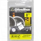 USB Flash 8Gb OltraMax 50 белая