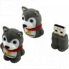 USB Flash 8Gb Smart Buy Wild Series Dog Grey