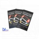 Наклейки Carbon 3D PSP E1000 цветные