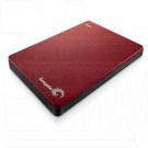Внешний диск 1 TB Seagate Backup Plus Slim USB 3.0 красный