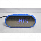 VST 712Y-5 часы настольные с ярко-синими цифрами