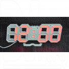 VST-883 часы настольные с красными цифрами