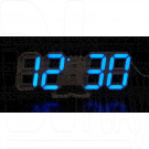VST-883 часы настольные с синими цифрами