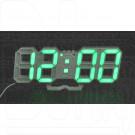 VST-883 часы настольные с зелеными цифрами
