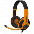 Defender Warhead G-120 гарнитура игровая черно-оранжевая