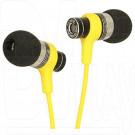 Наушники Fischer Audio Yuppie желтые