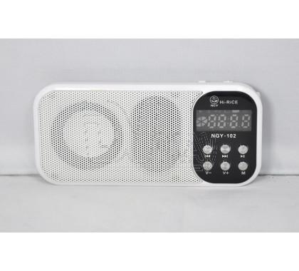 Радиоприемник NGY-102 (Дисплей\USB\microSD\MP3\BL-5C)