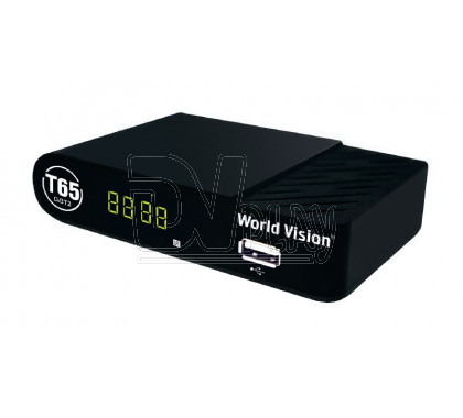 World Vision T65 DVB-T2 с дисплеем, Wi-Fi