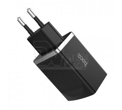 Зарядное устройство 2 USB 2.4A Hoco. C43A