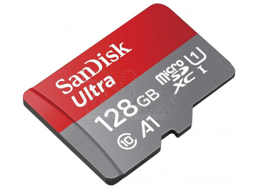 microSD 128Gb SanDisk Class 10 Ultra без адаптера
