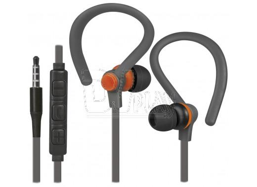 Defender OutFit W760 гарнитура серо-оранжевая
