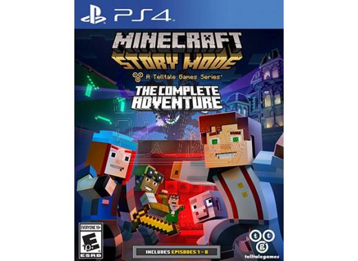 Minecraft: Story Mode - The Complete Adventure (русские субтитры) (PS4)