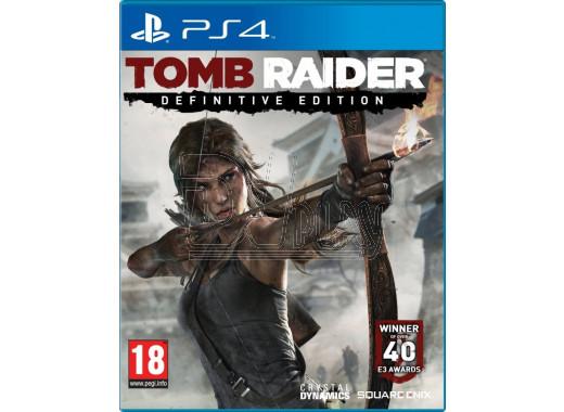 Tomb Raider: Definitive Edition (русская версия) (PS4)