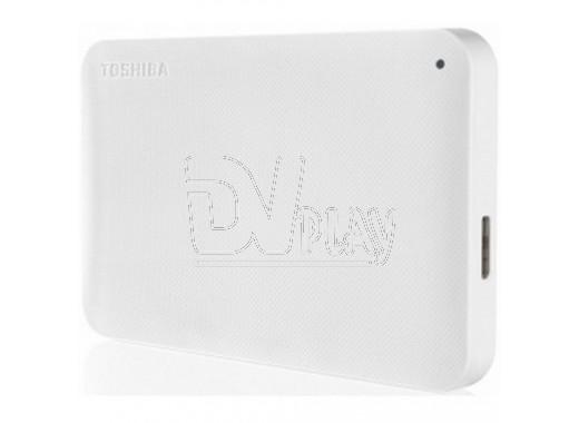 Внешний диск 1 TB Toshiba Stor.e Canvio Ready USB 3.0 белый