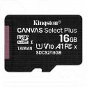 microSDHC 16Gb Kingston Class 10 A1 (100 Mb/s) без адаптера
