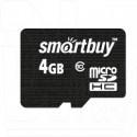 microSD 4Gb Smart Buy Class 10 без адаптера
