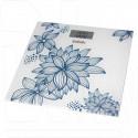 Электронные весы напольные BBK BCS3000G белo-голубые