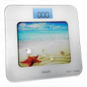 Электронные весы напольные BBK BCS7001 бело-голубые