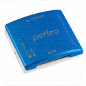 CARD READER USB Perfeo PF-VI-R010 синий