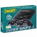 Игровая приставка 16bit Drive 2 Classic (105 игр)