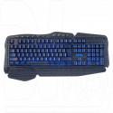Клавиатура игровая Perfeo Strike черная с подсветкой