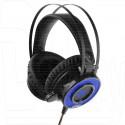 Gembird MHS-G500L гарнитура игровая черная с подсветкой