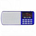 Радиоприемник Perfeo Егерь синий