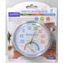Термометр-гигрометр круглый TH-101C