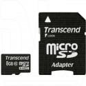 microSD 8Gb Transcend Class 10 Ultimate с адаптером