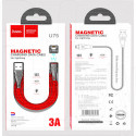 Кабель USB A - Lightning (1,2 м) Hoco. U75 магнитный