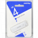 USB Flash 4Gb Smart Buy LM05 белая