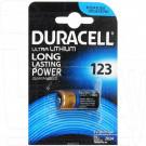 Duracell CR123A Ultra BL1