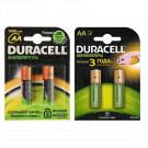Аккумуляторы Duracell HR6 1300mAh NiMH BL2 AA в упаковке 2 шт