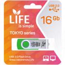 USB Flash 16Gb Life Tokyo зеленая