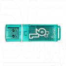 USB Flash 16Gb Smart Buy Glossy зеленая