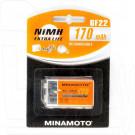 Аккумулятор Minamoto 6F22 (Крона) 170mAh NiMH BL1