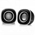 BBK CA-301S черный/металлик акустика 2.0