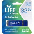 USB Flash 32Gb Life Dubai синяя