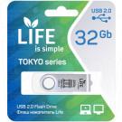 USB Flash 32Gb Life Tokyo белая