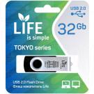 USB Flash 32Gb Life Tokyo черная