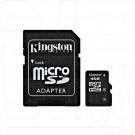 microSD 4Gb Kingston с адаптером