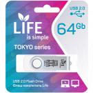 USB Flash 64Gb Life Tokyo белая