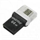 USB Flash 64Gb Smart Buy Poko OTG черная