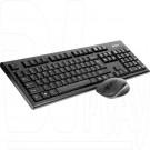 A4Tech 7100N клавиатура + мышь черные