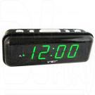 VST 738-4 часы настольные с ярко-зелеными цифрами